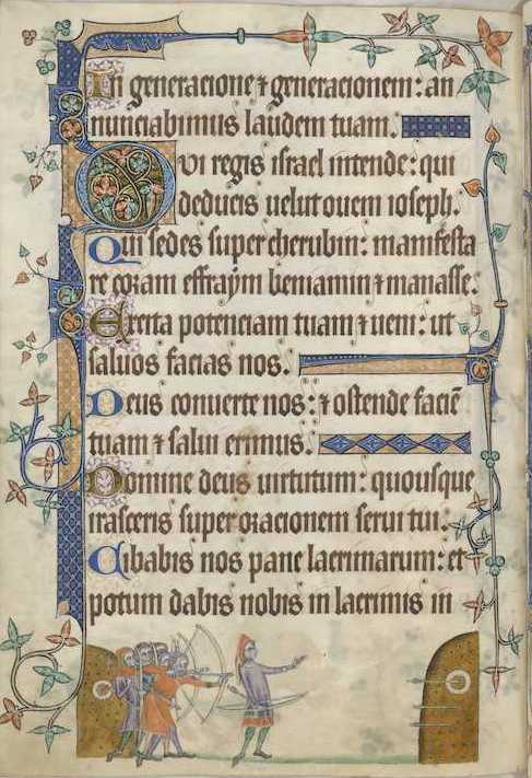 Jill MacLean, Author, medieval novel - photo from Luttrell Psalter