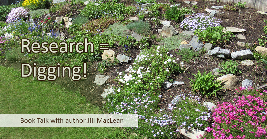 The Perfect Nanny Book Review - Research = Digging | Book Talk blog with author Jill MacLean